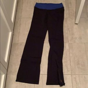Lucy black bootcut yoga pants